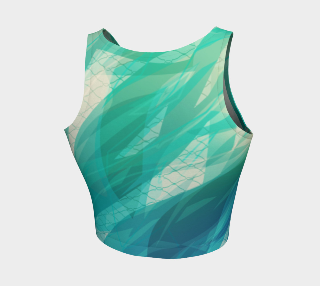 Legato Inverted Crop Top preview #2