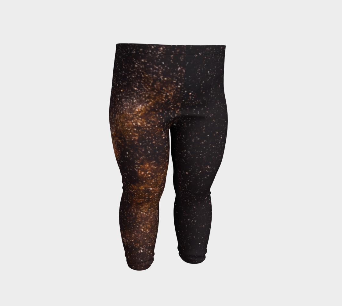 Brown Universe Baby Leggings preview #2