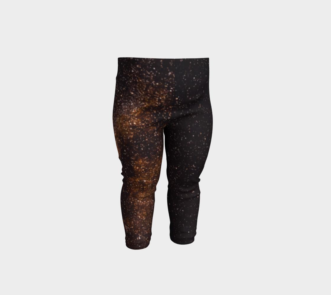Brown Universe Baby Leggings preview #1