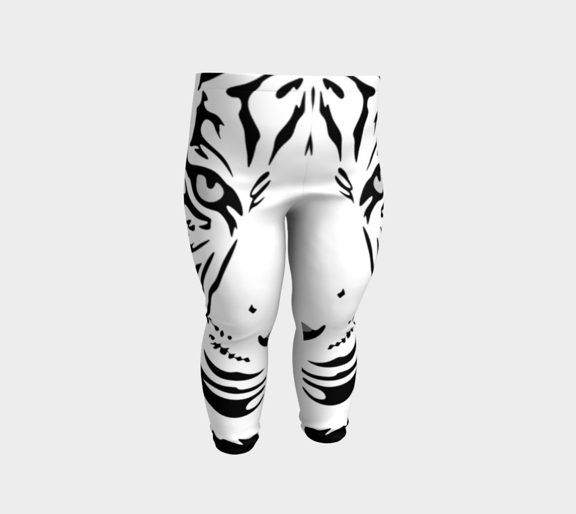 White Tiger Baby Leggings preview #2