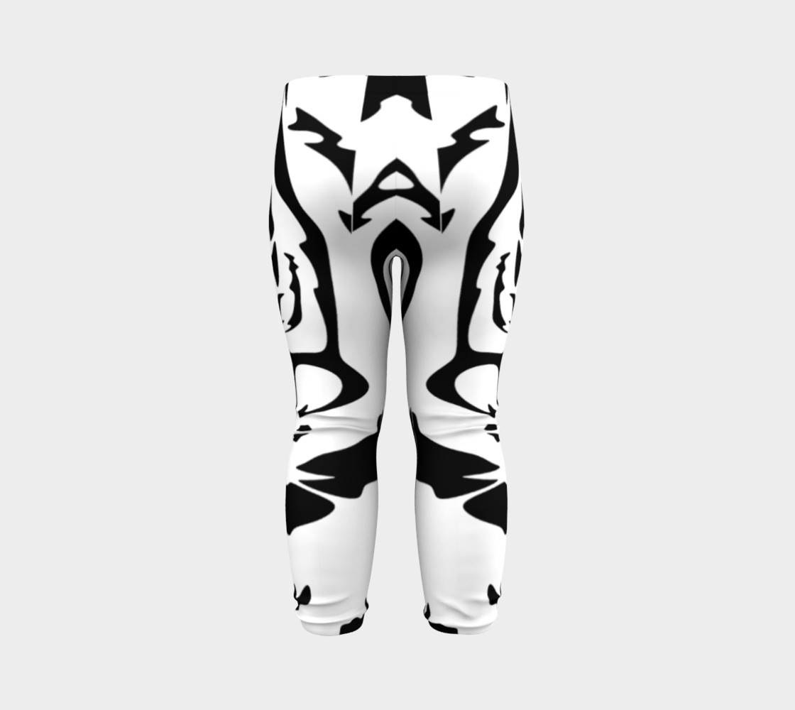 White Tiger Baby Leggings preview #7