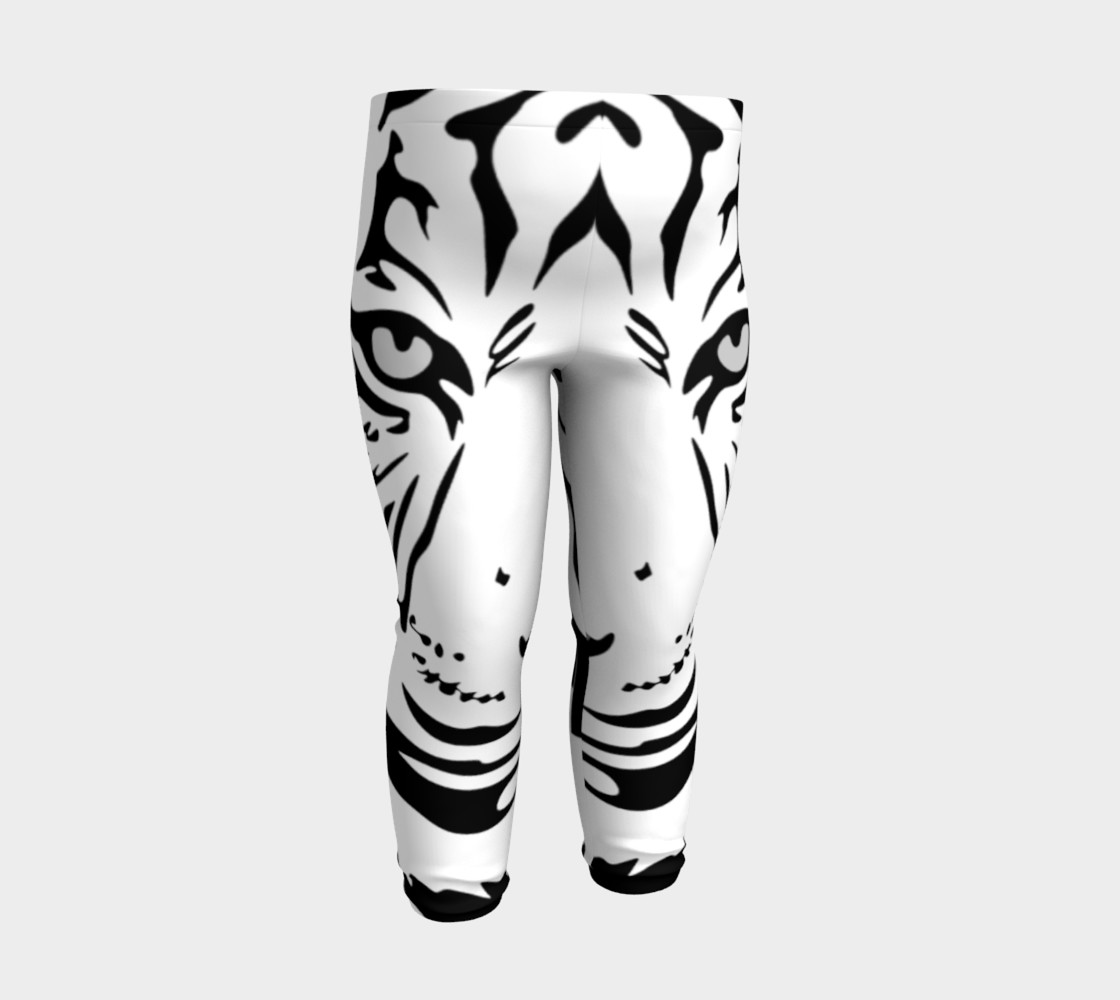 White Tiger Baby Leggings preview #3