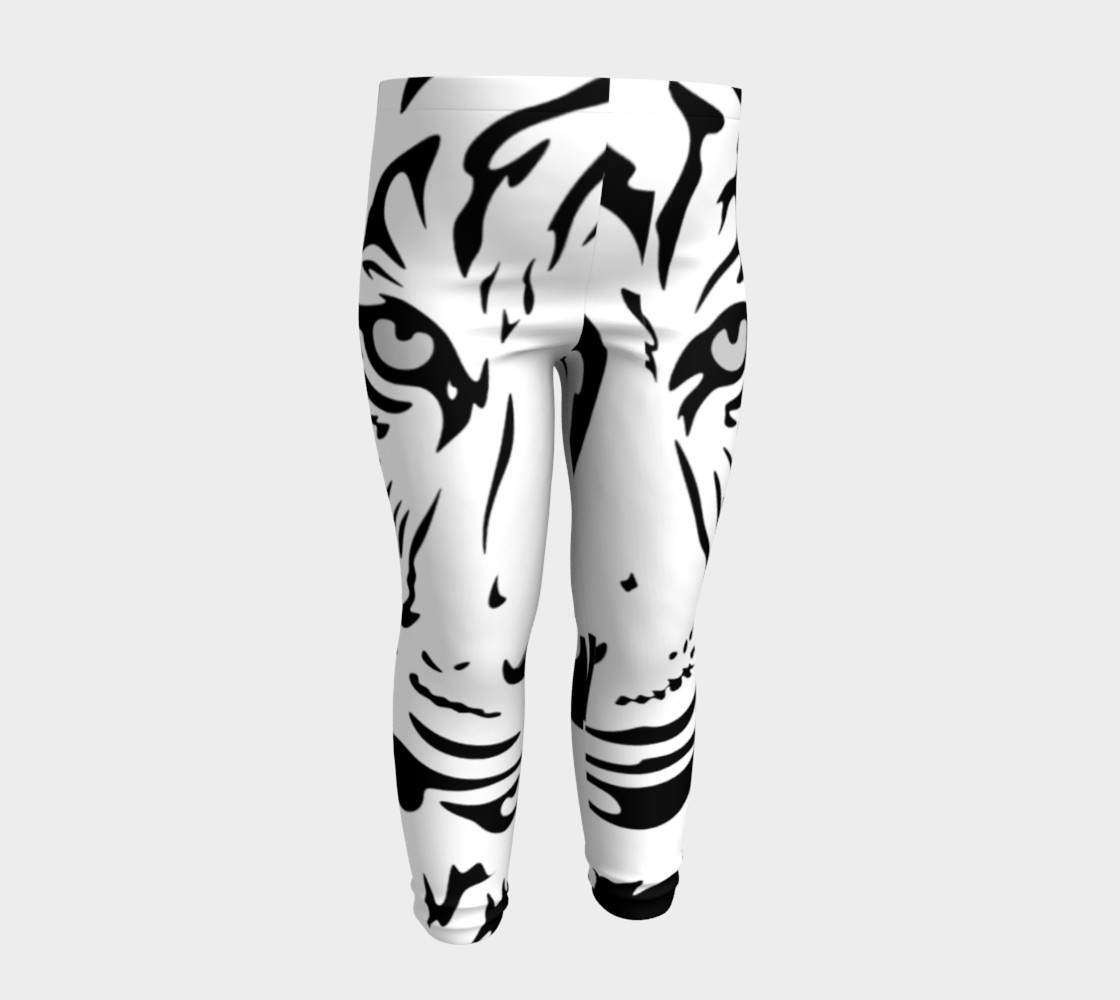 White Tiger Baby Leggings preview #4