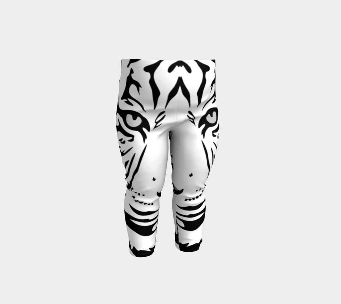 White Tiger Baby Leggings preview #1