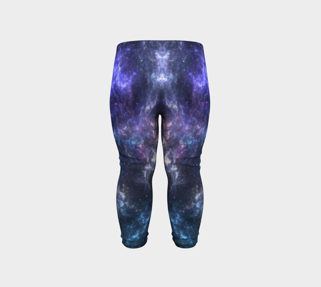 Center of the Galaxy Kids' Leggings preview #6