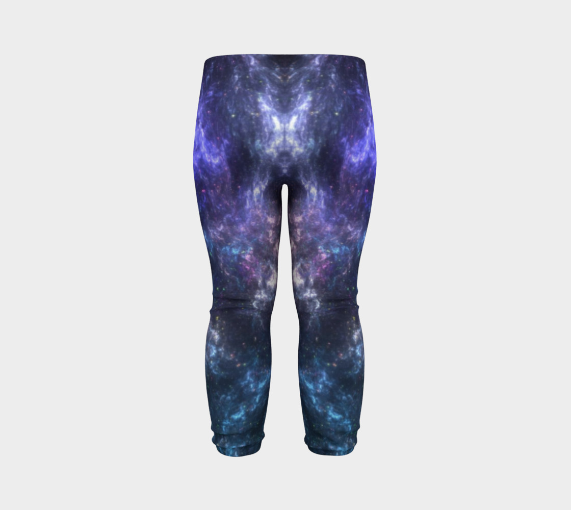 Center of the Galaxy Kids' Leggings preview #7