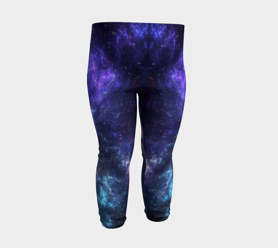 Center of the Galaxy Kids' Leggings preview #3