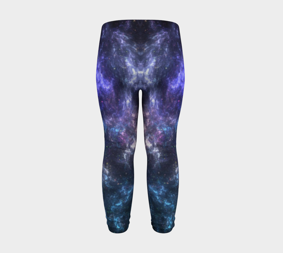 Center of the Galaxy Kids' Leggings preview #8