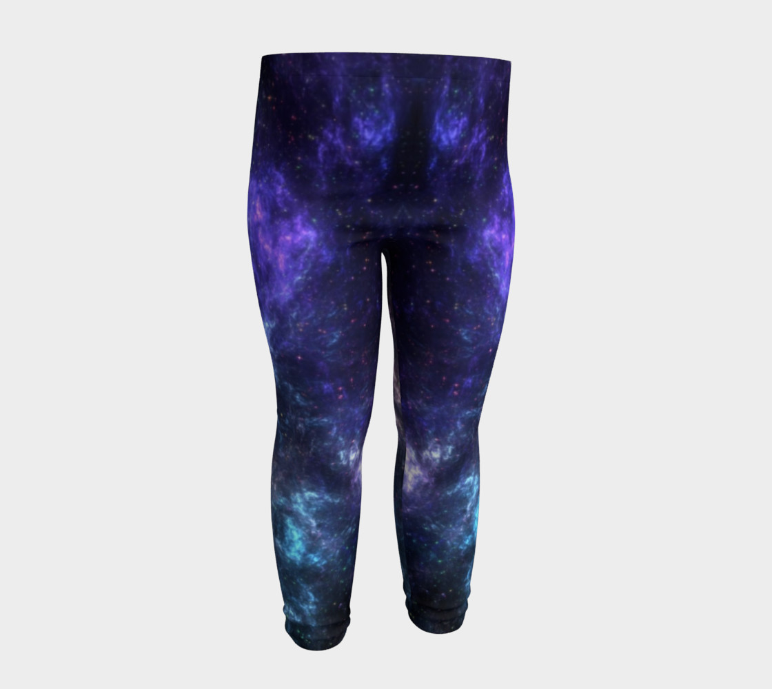 Center of the Galaxy Kids' Leggings preview #4