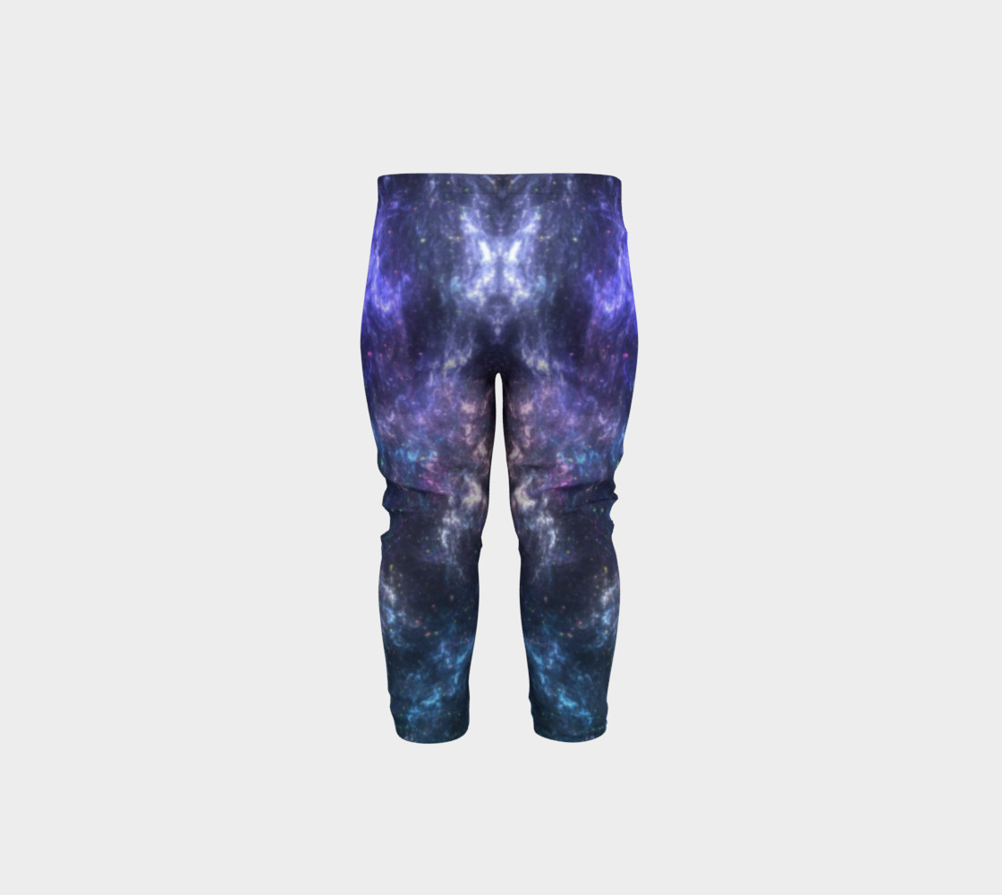 Center of the Galaxy Kids' Leggings preview #5