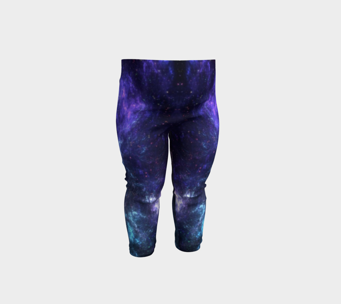 Center of the Galaxy Kids' Leggings preview #1