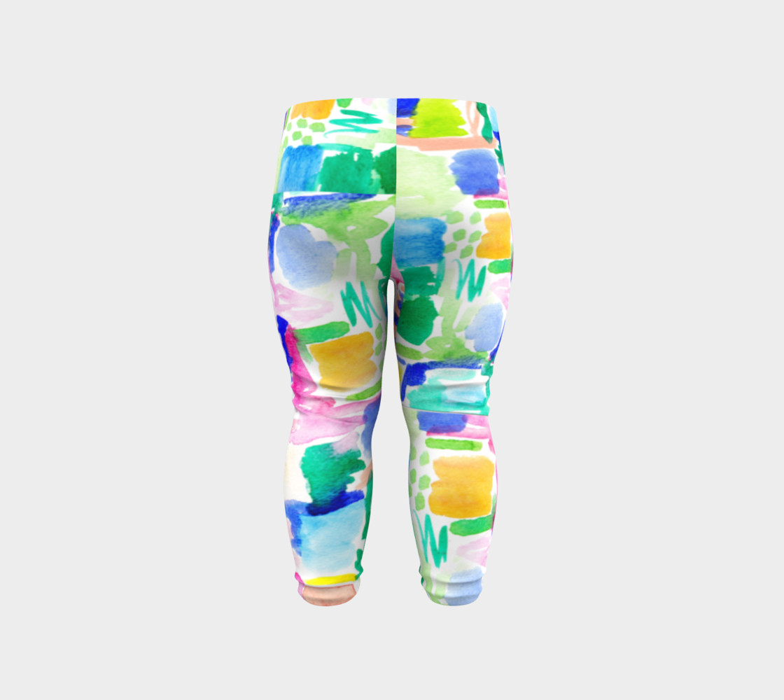 Summer Day- Baby Leggings preview #6