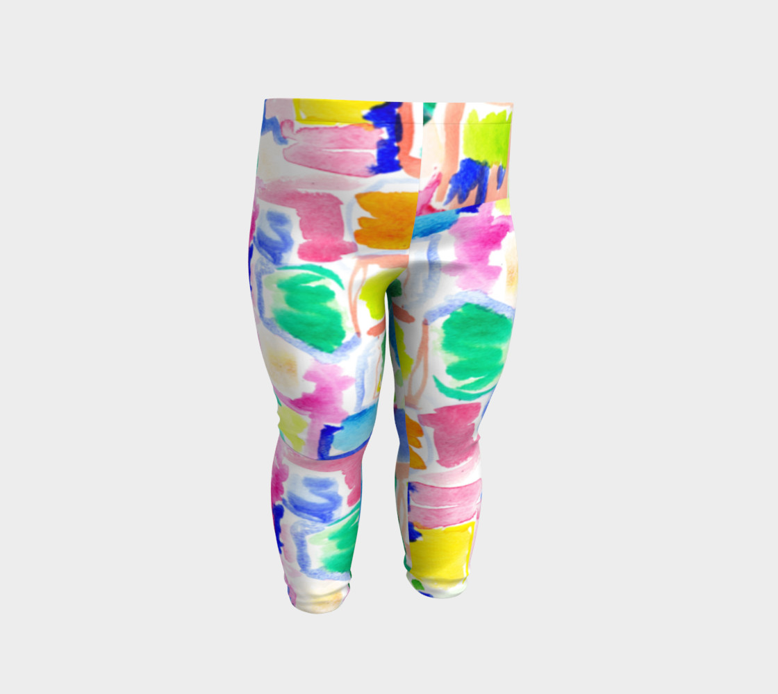 Summer Day- Baby Leggings preview #2