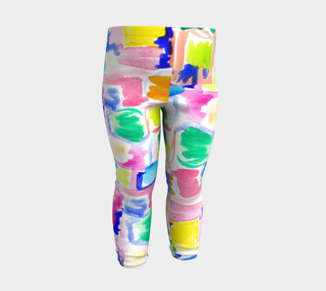Summer Day- Baby Leggings preview #3