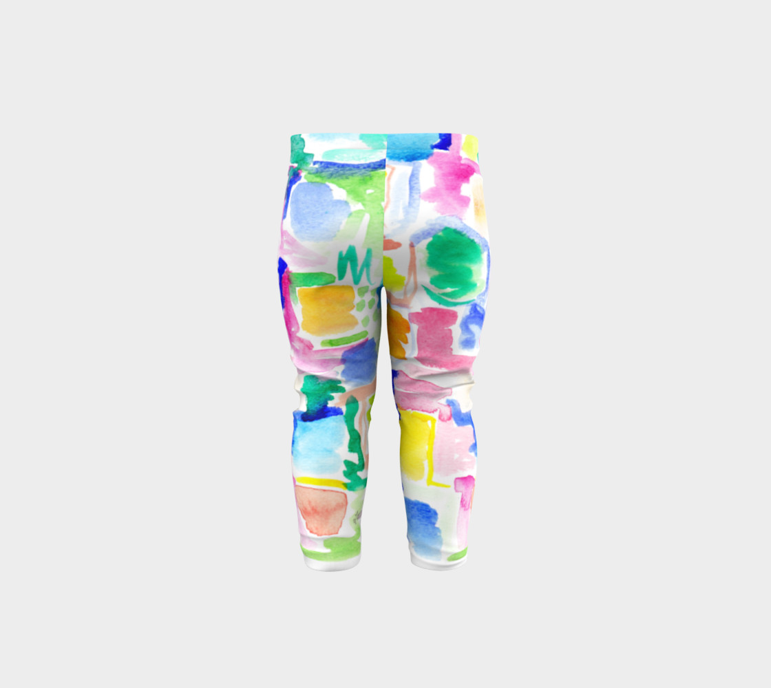 Summer Day- Baby Leggings preview #5