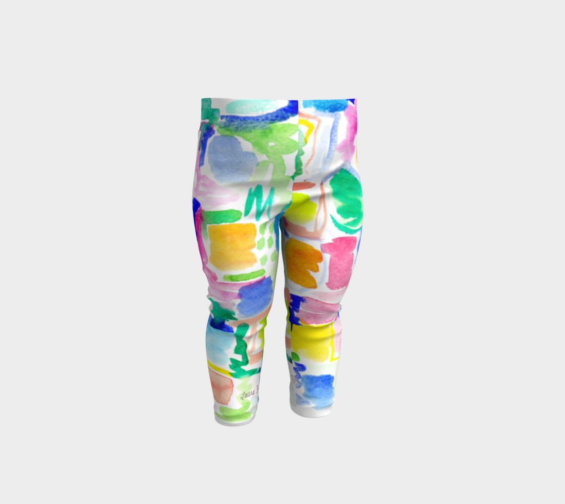 Summer Day- Baby Leggings preview #1