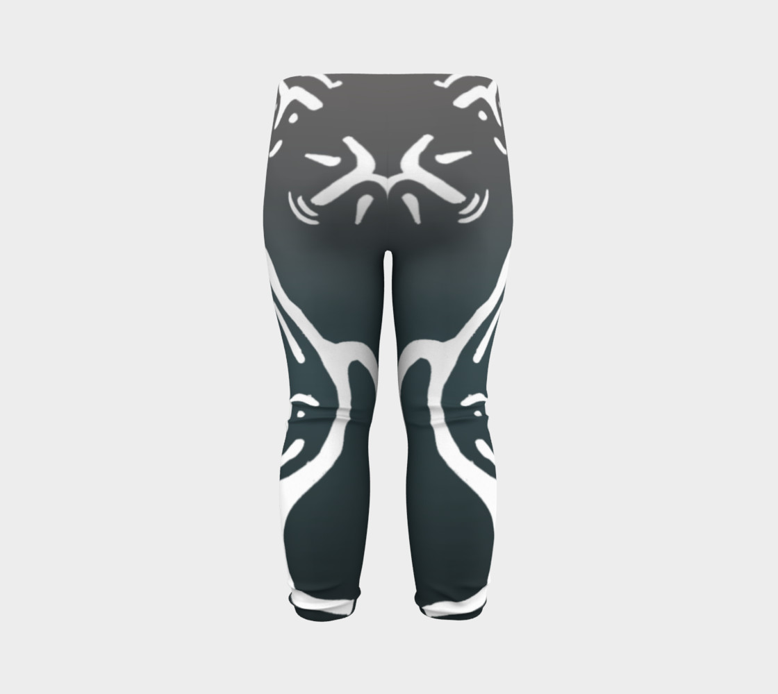 Baby leggings w/whale petro preview #7