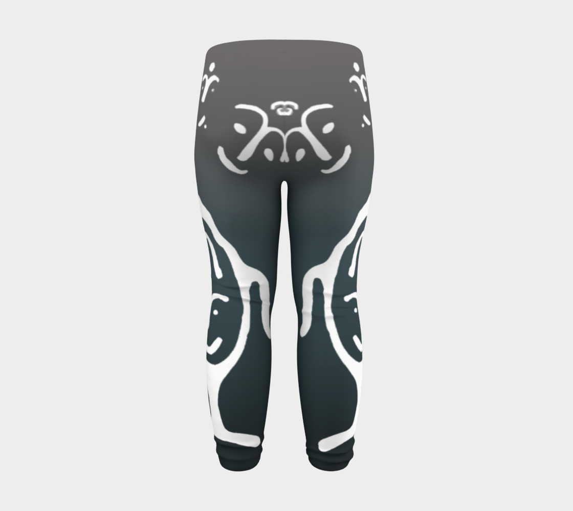 Baby leggings w/whale petro preview #8
