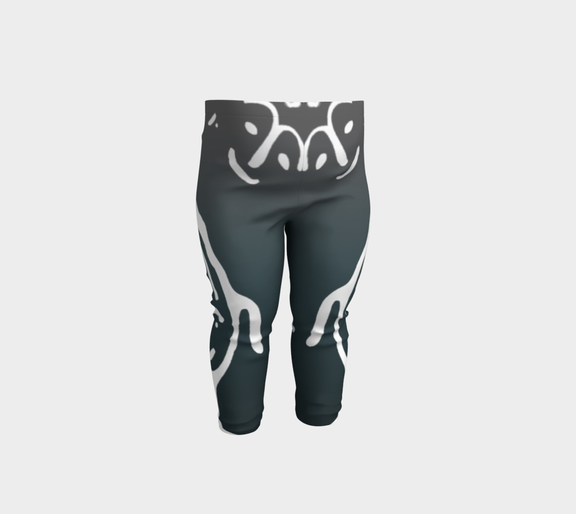 Baby leggings w/whale petro preview #1