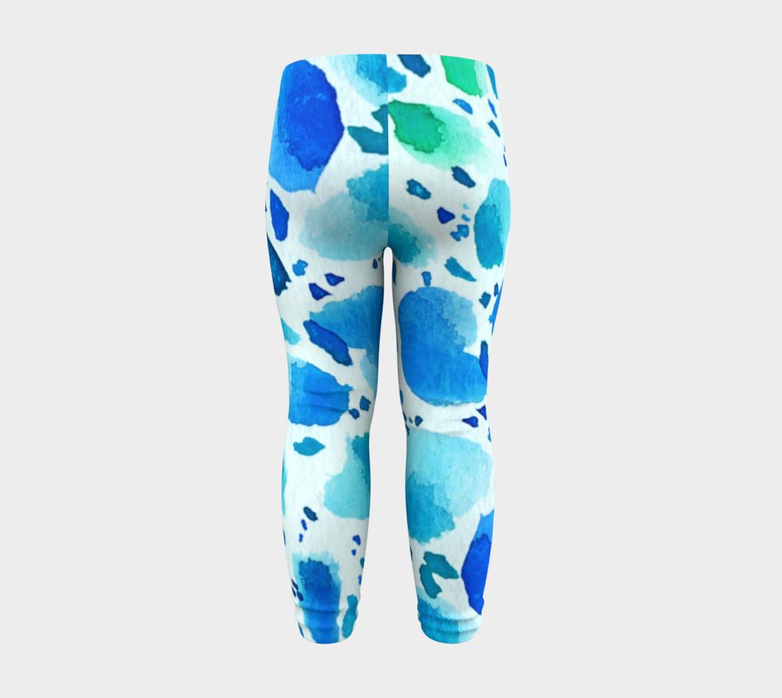 Blue Watercolor Dalmatian Spots preview #8
