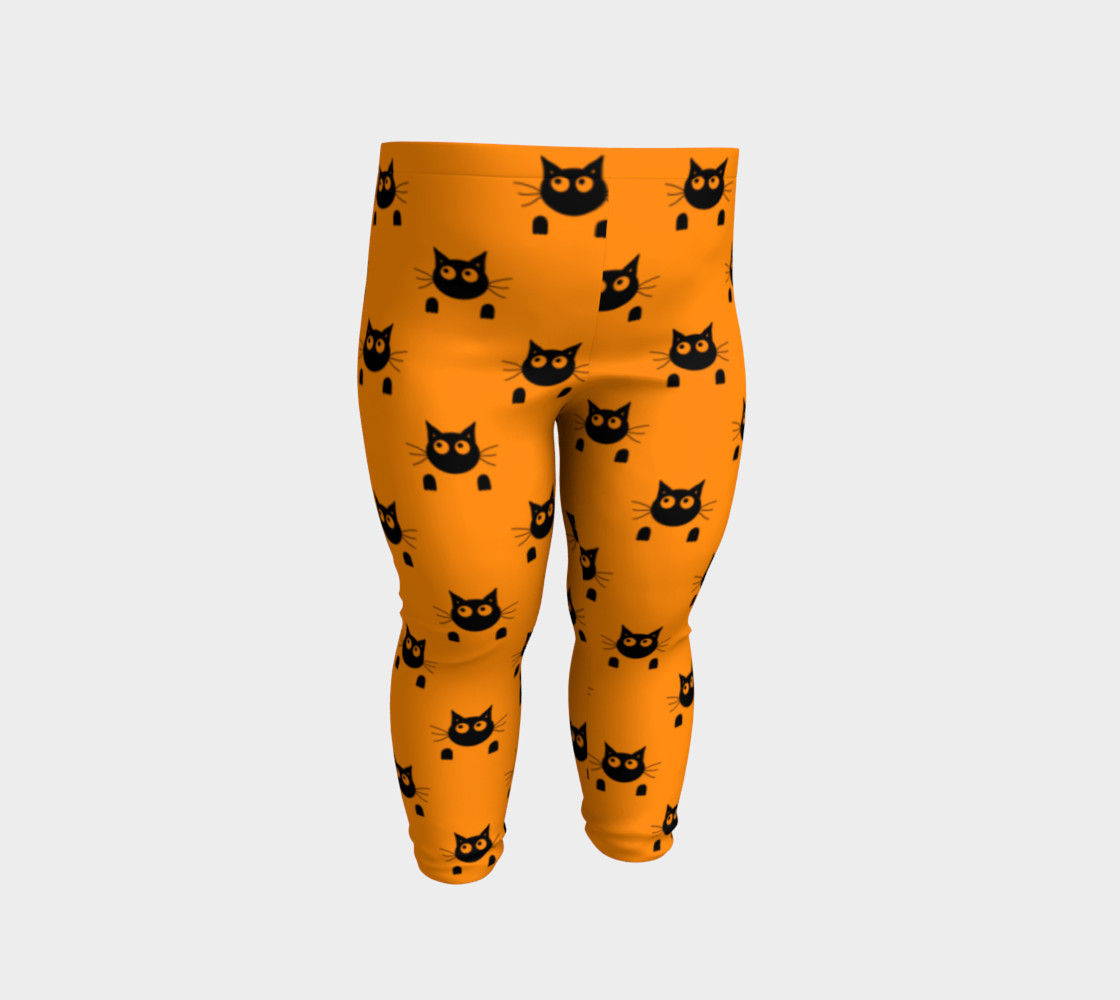 Halloween Cat Baby Leggings thumbnail #3