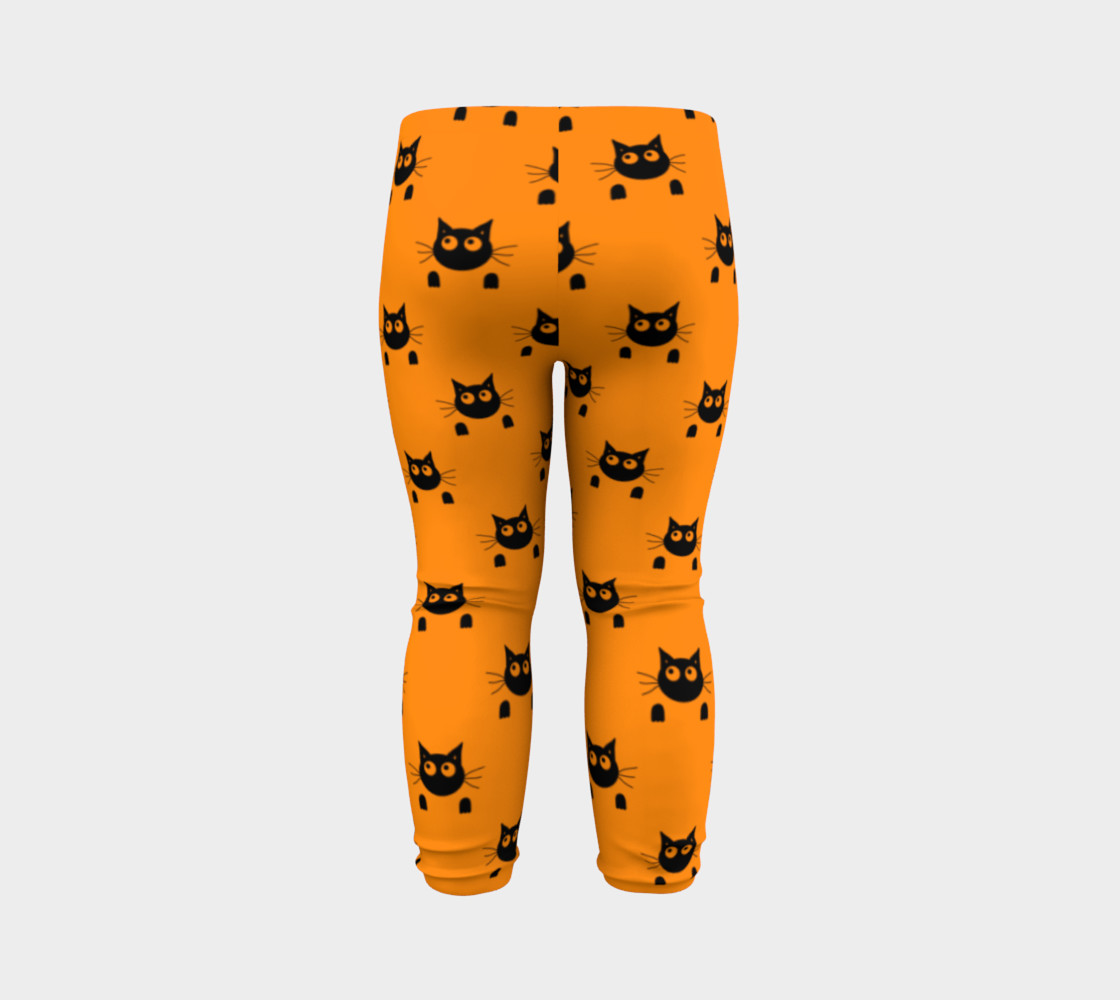Halloween Cat Baby Leggings thumbnail #8