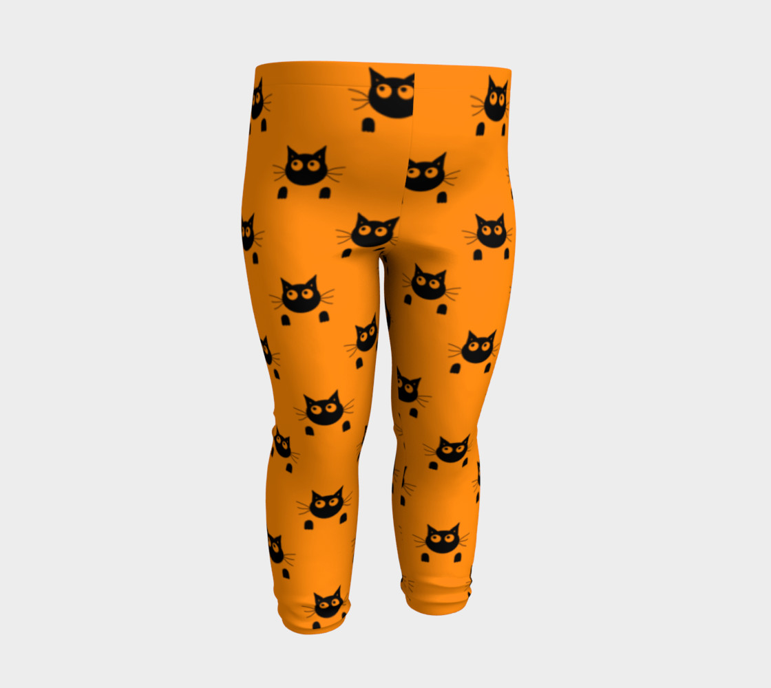 Halloween Cat Baby Leggings thumbnail #4