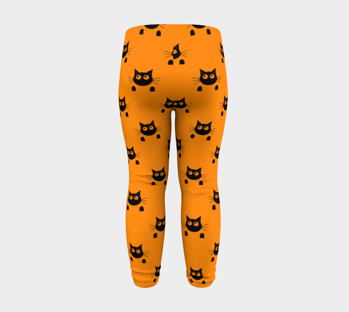 Halloween Cat Baby Leggings thumbnail #9