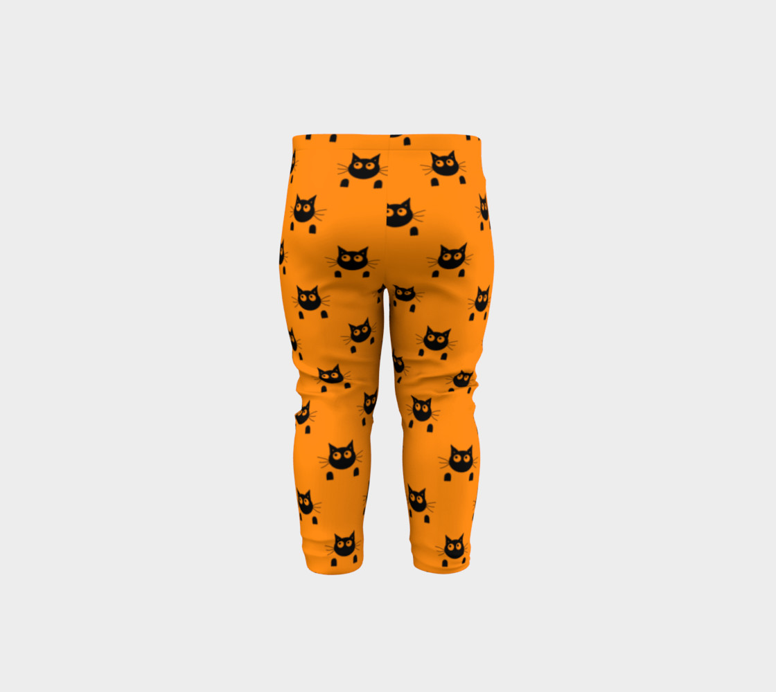 Halloween Cat Baby Leggings thumbnail #6