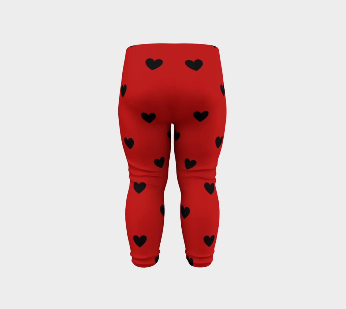 Love Bug- baby leggings preview #6