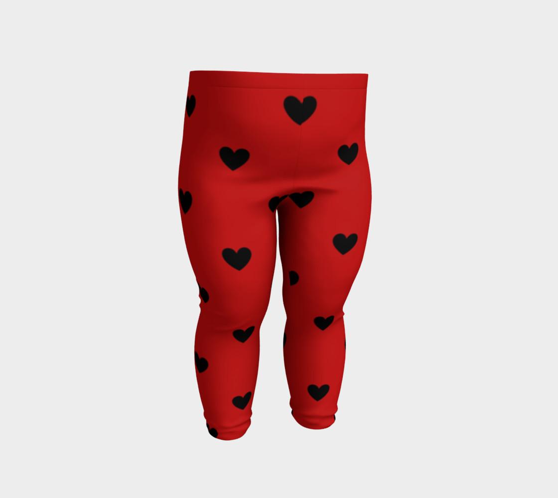 Love Bug- baby leggings preview #2