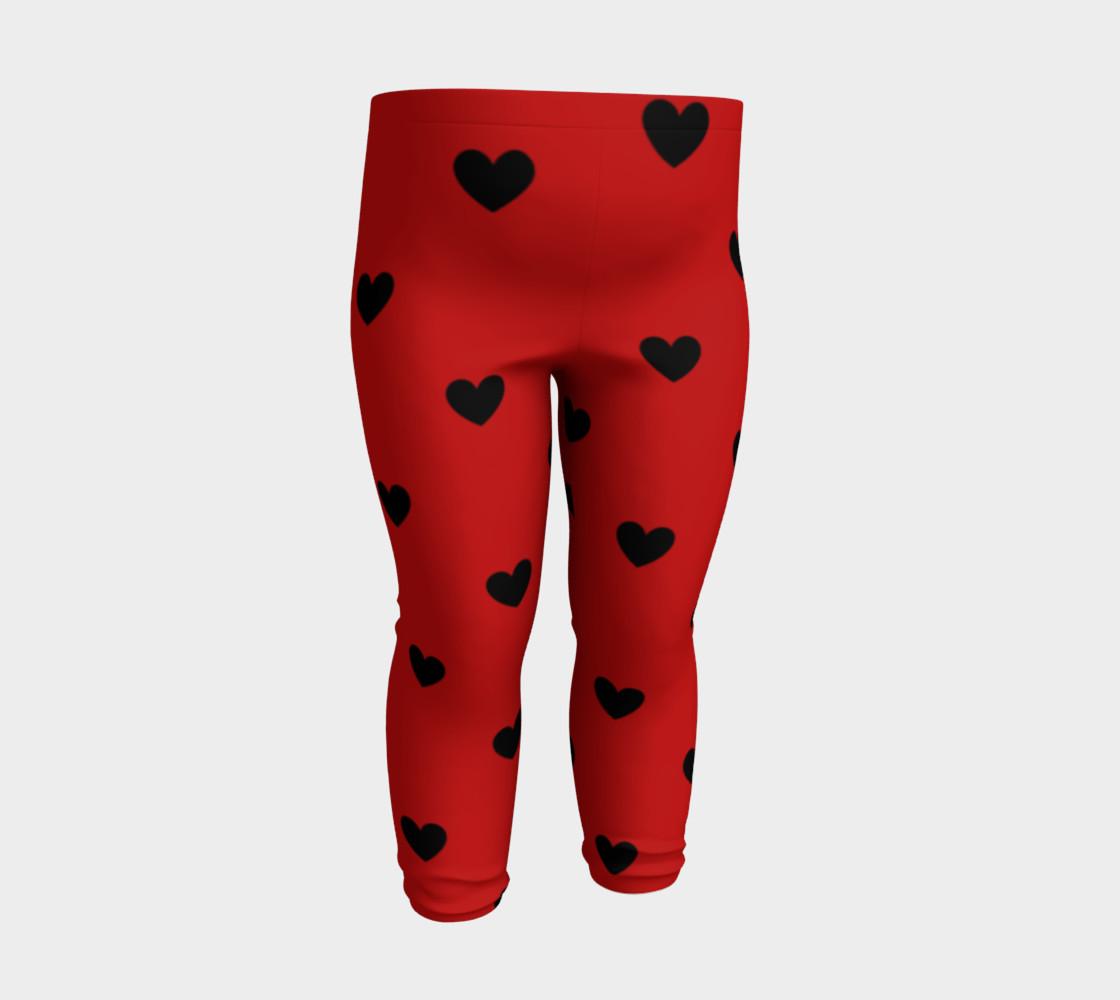 Love Bug- baby leggings preview #3
