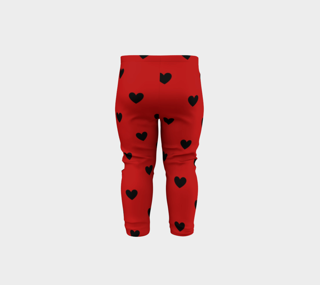 Love Bug- baby leggings preview #5