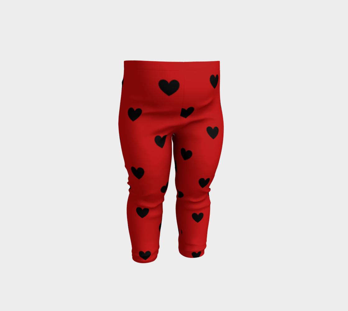 Love Bug- baby leggings preview #1