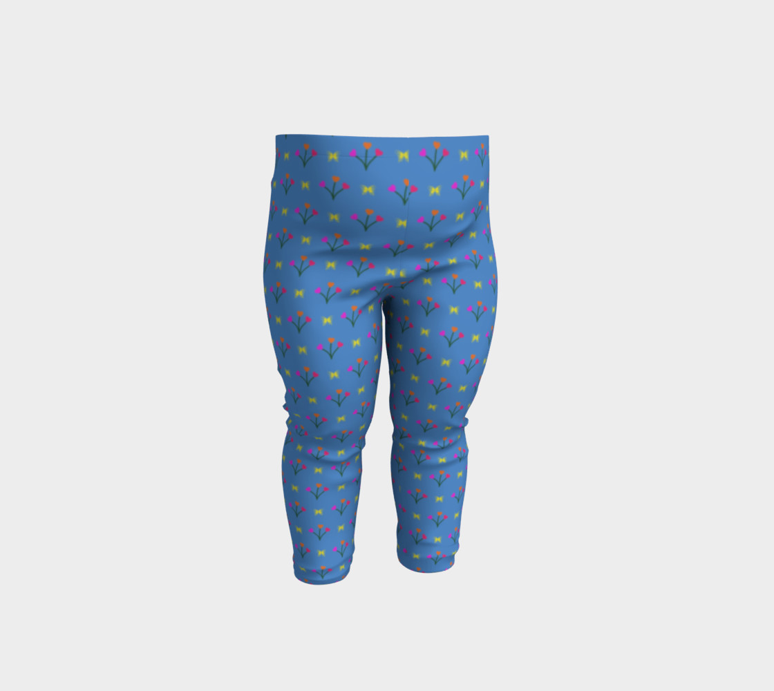 Flower Fields Baby Leggings preview #1