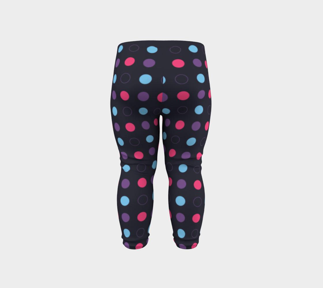 Disco Dots Baby Leggings preview #6