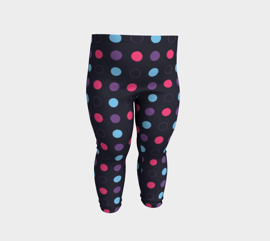 Disco Dots Baby Leggings preview #2