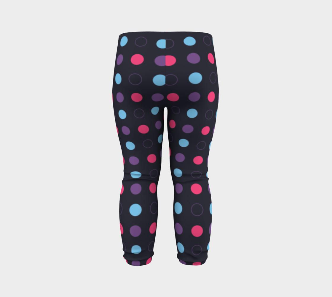 Disco Dots Baby Leggings preview #7