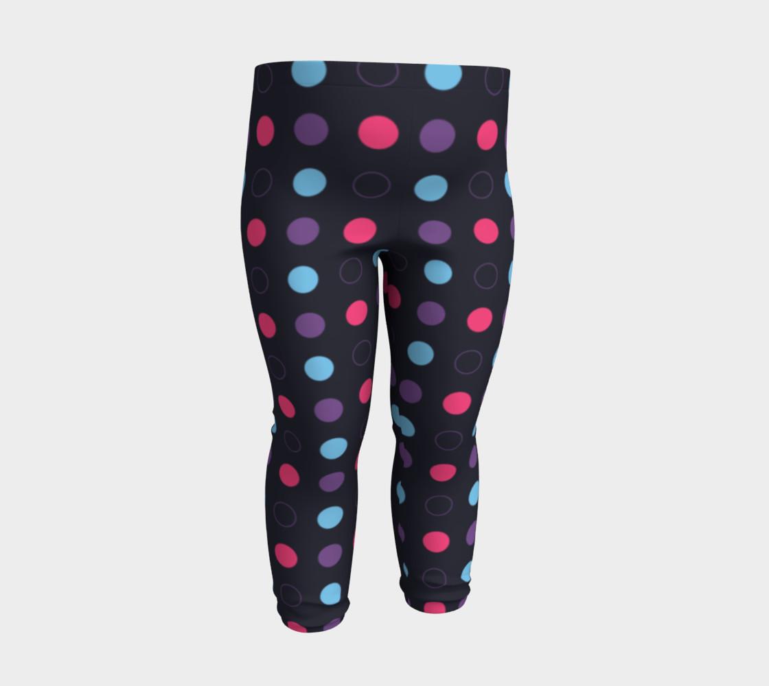Disco Dots Baby Leggings preview #3