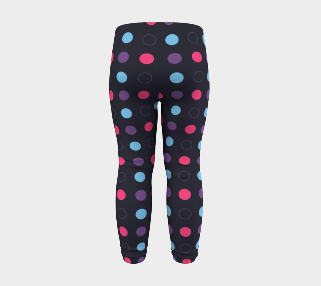 Disco Dots Baby Leggings preview #8