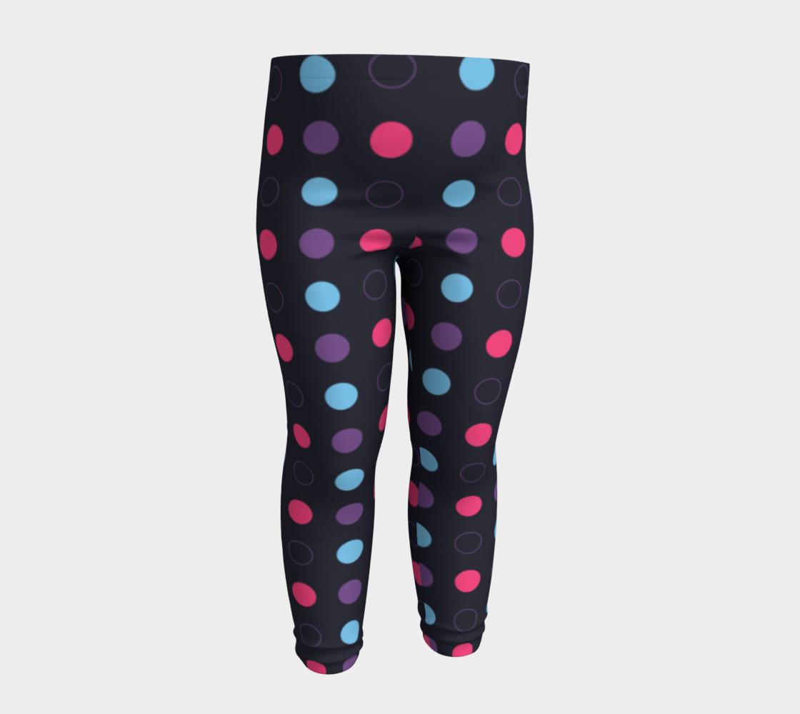 Disco Dots Baby Leggings preview #4