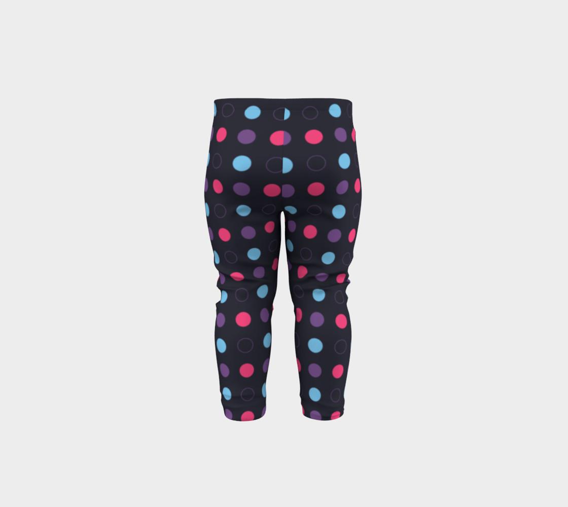Disco Dots Baby Leggings preview #5