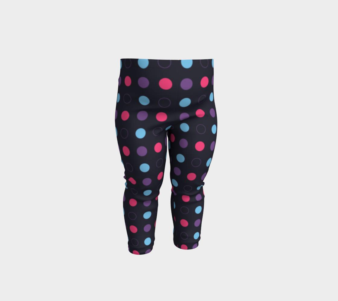 Disco Dots Baby Leggings preview #1