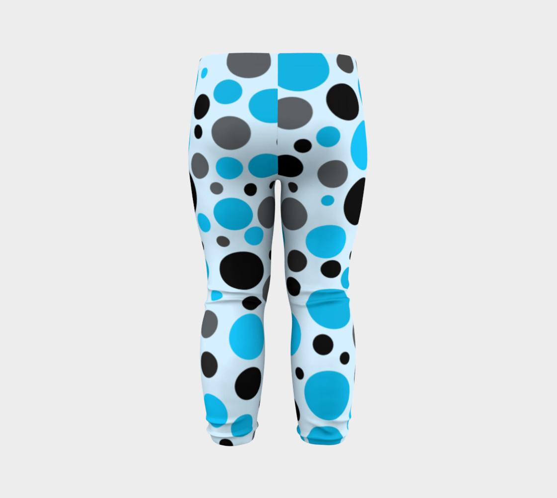 Aperçu de Black blue and gray polka dots #7