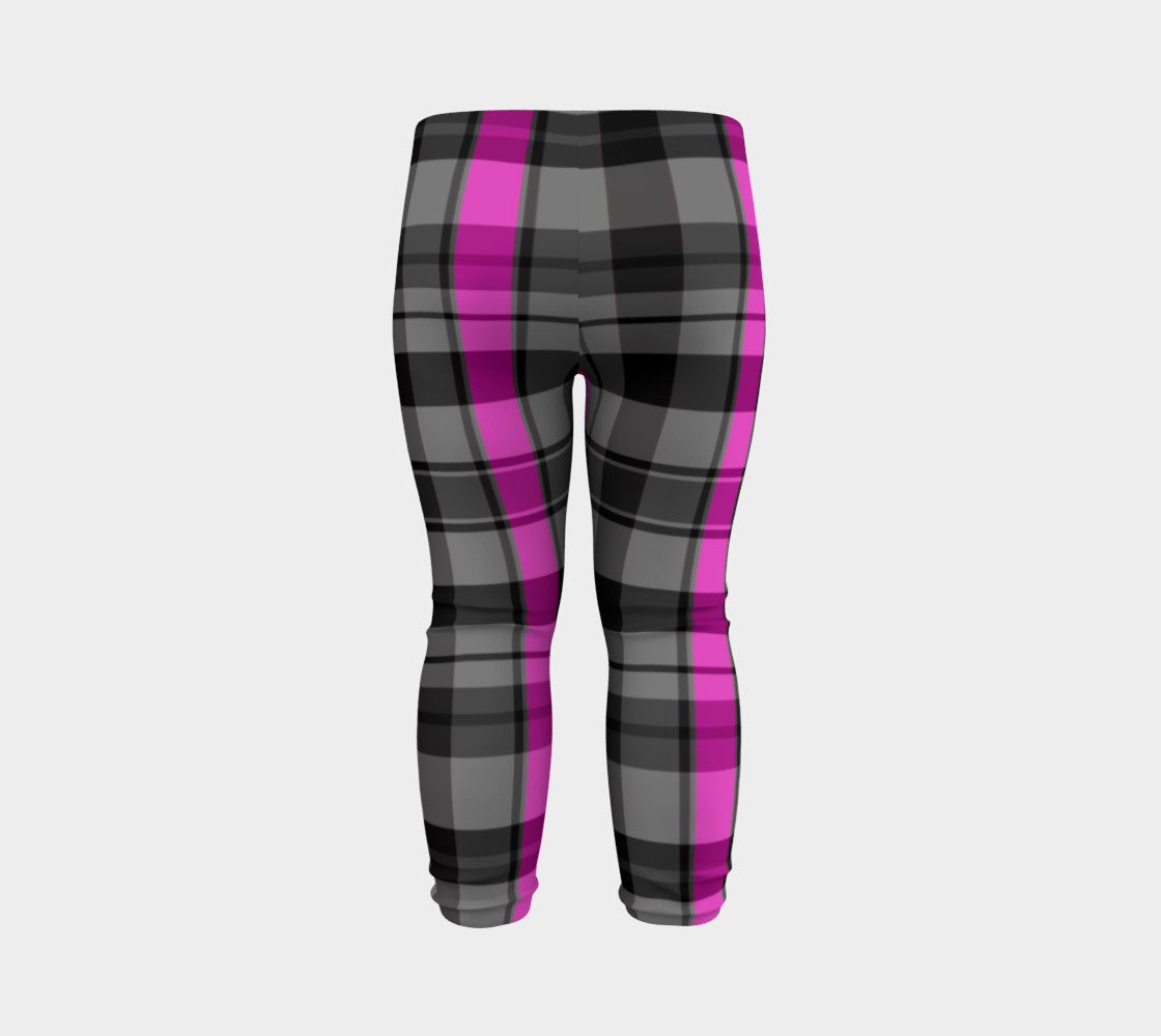 Pink black and gray plaid Miniature #8