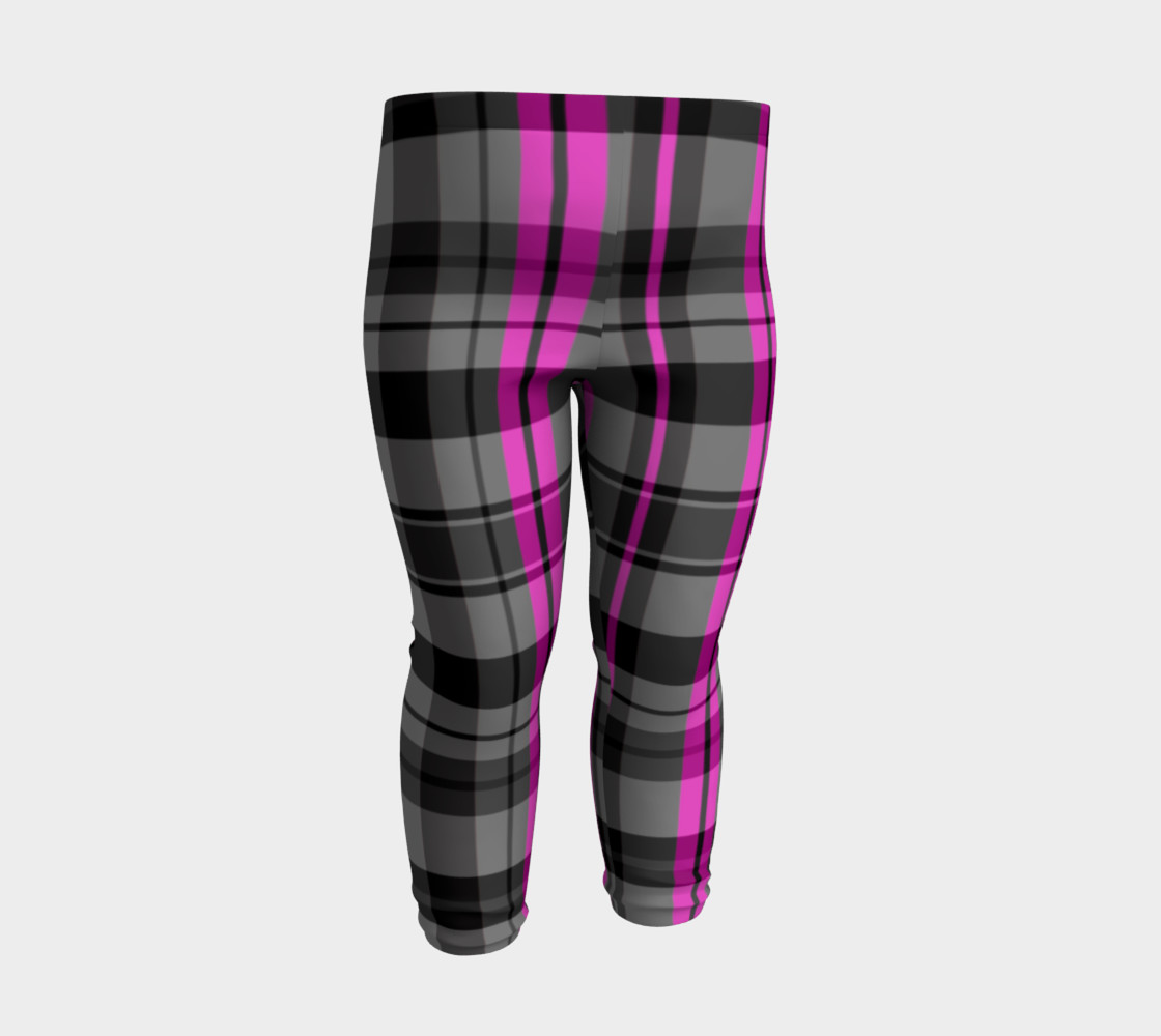 Pink black and gray plaid Miniature #4