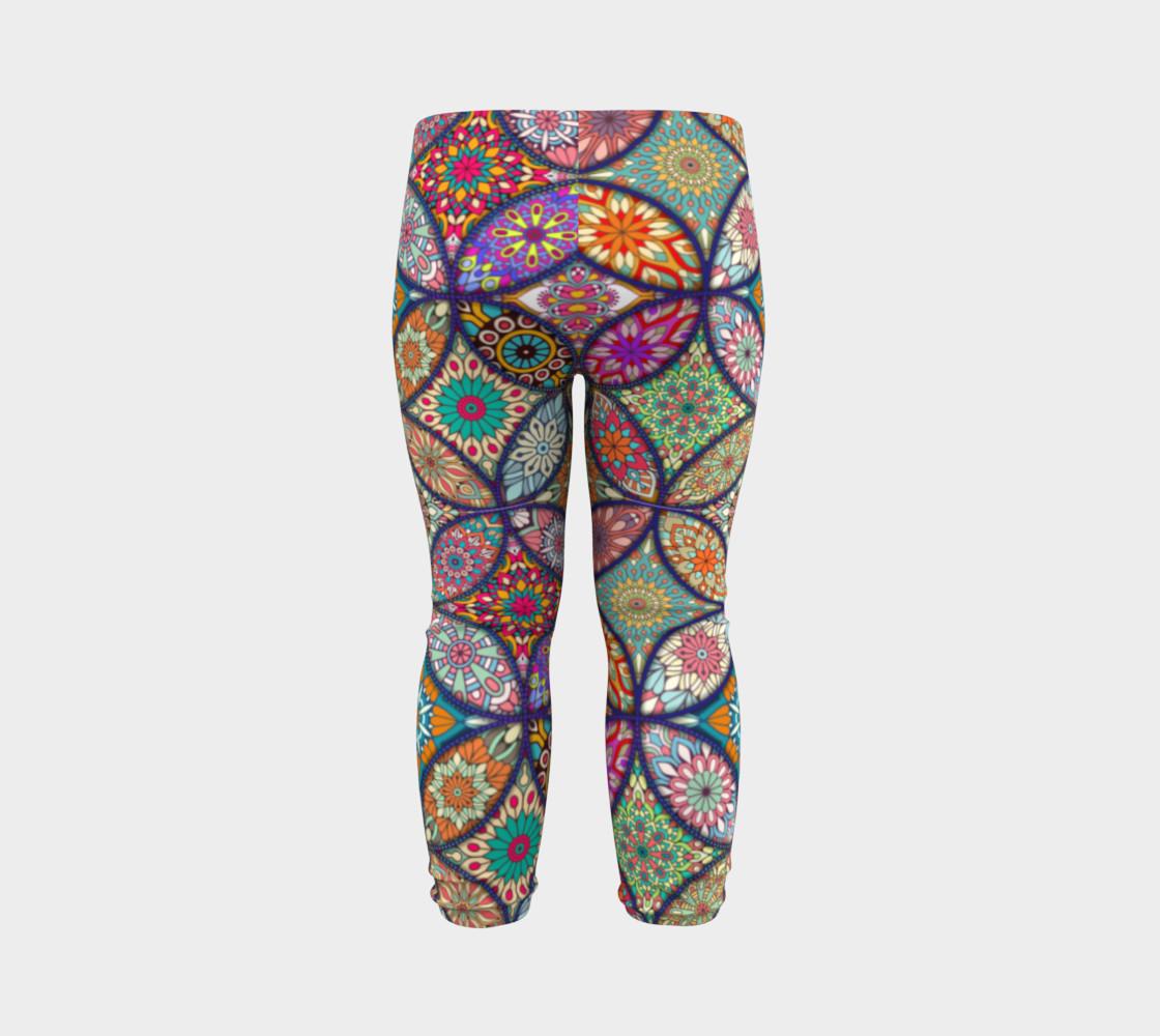 Vibrant Mandalas Baby Leggings preview #7