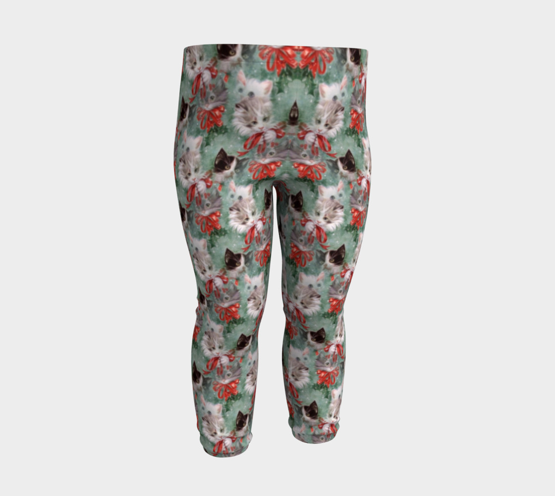 Christmas Kitties Baby Leggings thumbnail #4