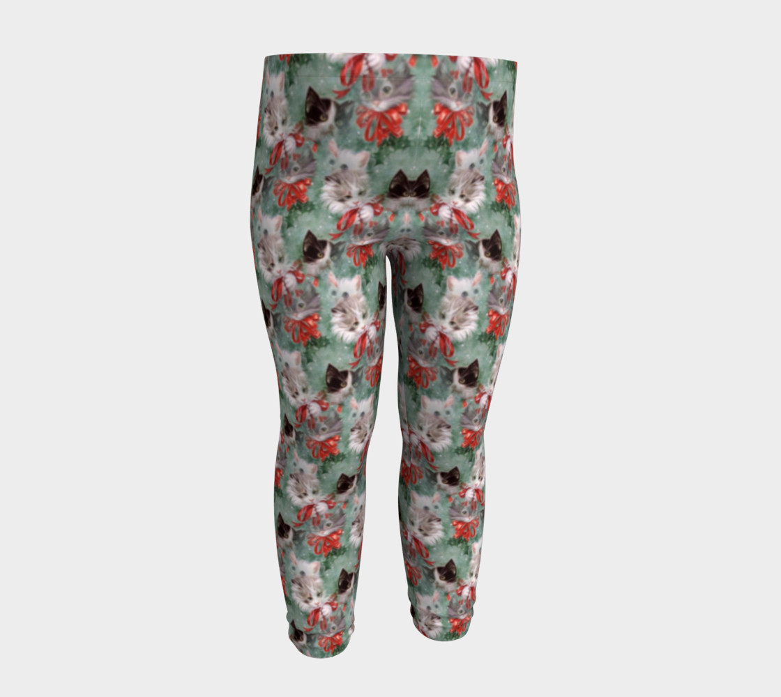 Christmas Kitties Baby Leggings 3D preview