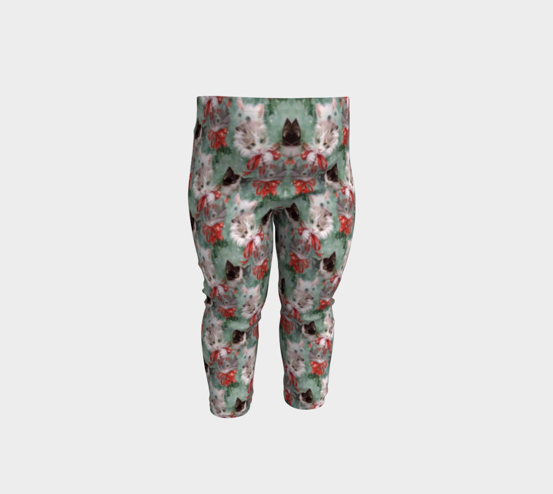 Christmas Kitties Baby Leggings thumbnail #2